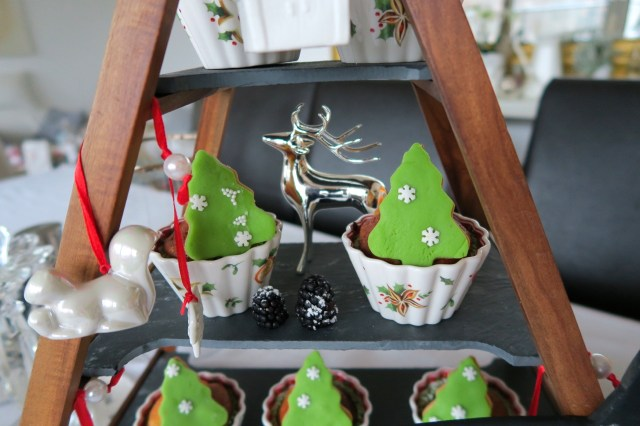 Weihnachtsbaum-Muffins – 35