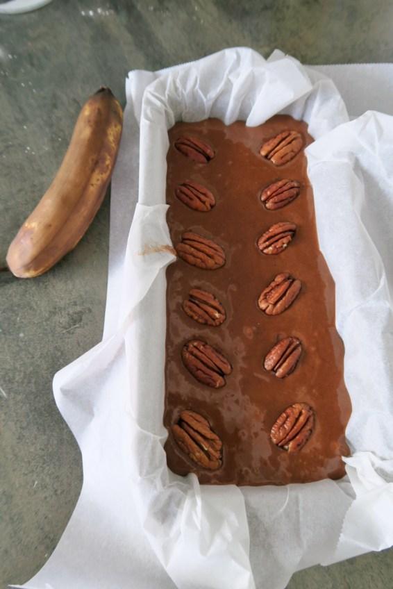 Bananen Schokoladenkuchen