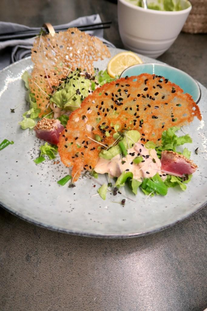 Tuna Tatar in Chilimayonnaise