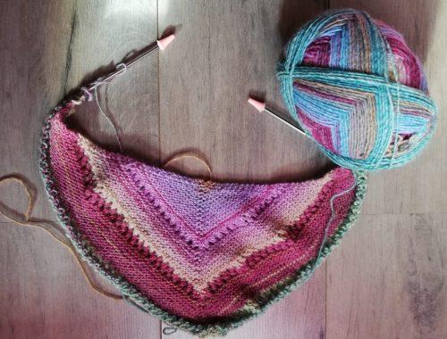 châle Reyna tricot