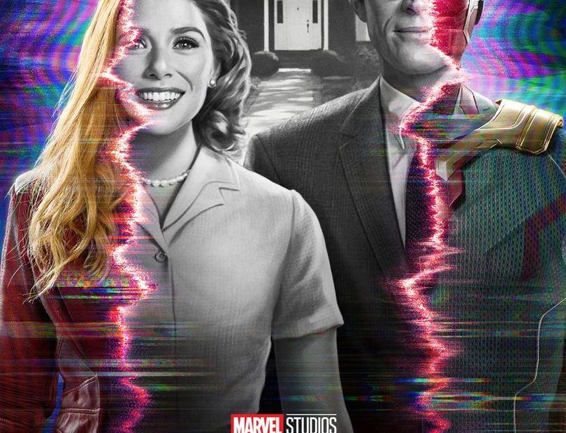 WandaVision Disney+ Affiche