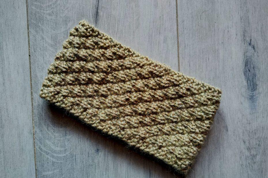 bandeau épicéa tricot