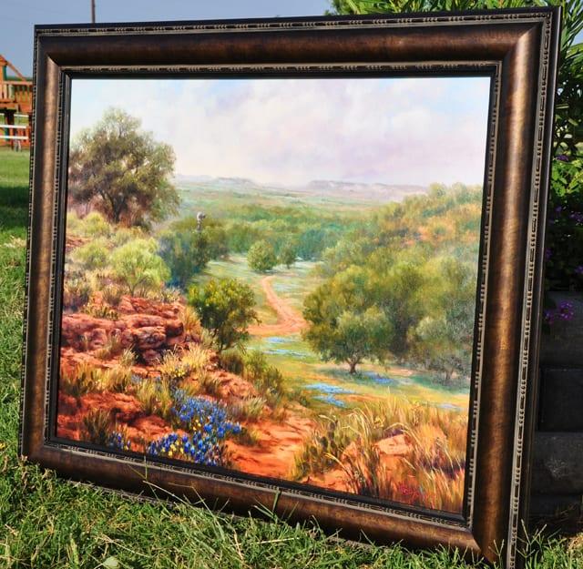 GrapeFest Vintners' Auction Classic & Grancy's painting