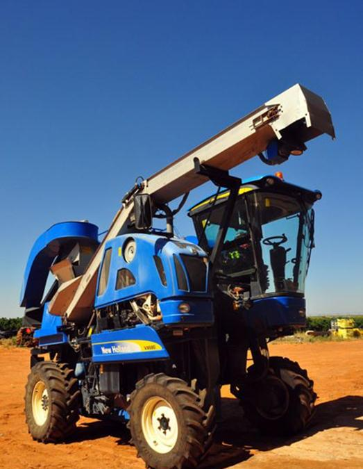 Harvesters and Trailers
