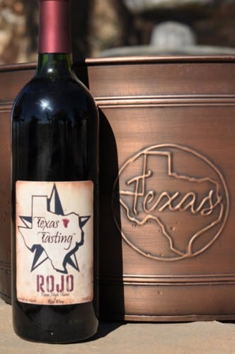 Rojo red table wine 2008 from Texoma Winery