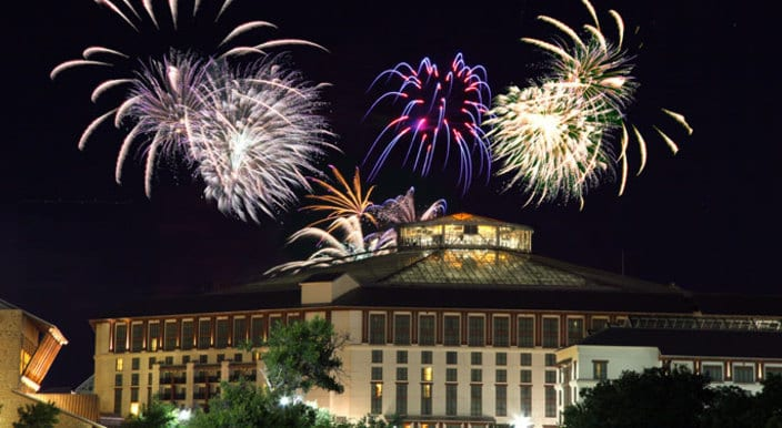 4th of July Fireworks at Grapevine 2015