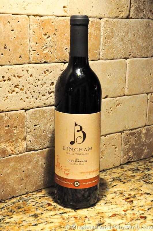 Bingham Family Vineyards 2014 Dirt Farmer