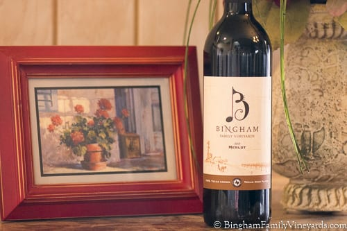 Bingham Wine Club Wine of the Month for February – 2015 Merlot