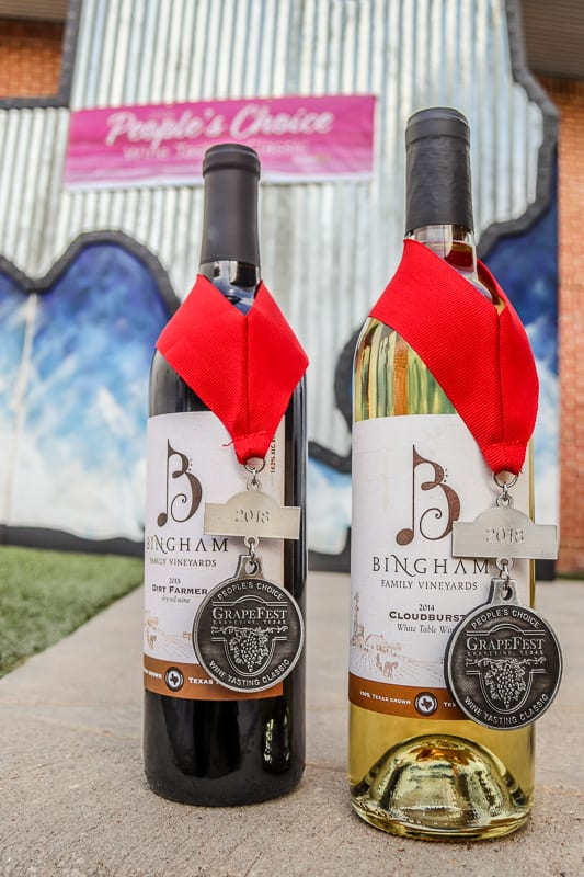 Winners at People's Choice Wine Competition 2018 Grapefest!
