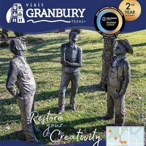 Vist Granbury statues