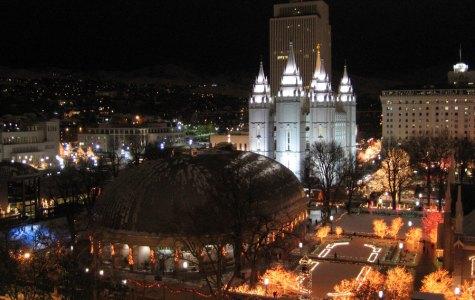 Starlight Temple Square Night