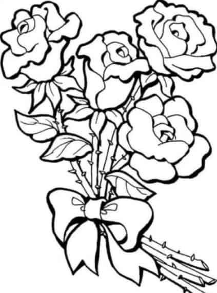 10 Gambar Sketsa Bunga Melati Cantik Keren Dan Sederhana Modern