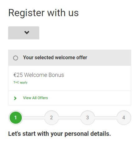 4 steps to opening an account at Unibet Bingo