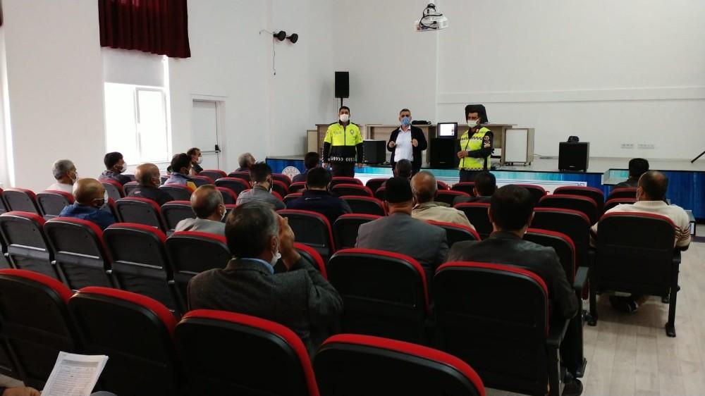 Bingöl'de servis şoförlerine eğitim