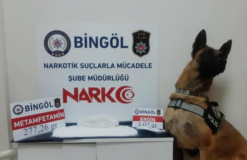 Bingöl'de kasık arasına gizlediği uyuşturucuyla yakalandı