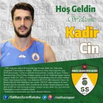 Solhanspor, smaçör Kadir Cin ile anlaştı