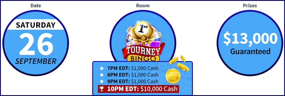 Win $13000 just by playing free bingo!