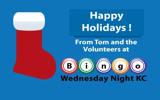 2014 Holiday Bingo Playing Hours