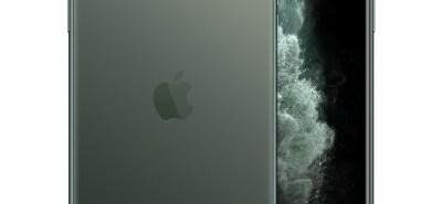 iPhone 11 Pro Max màu xanh rêu