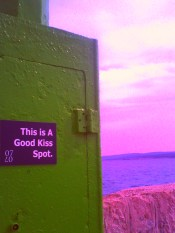 Kroatien - Crikvenica - This is a good kiss spot