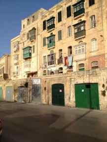 Valetta - Häuser - Malta