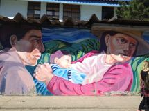 Peruanische Familie