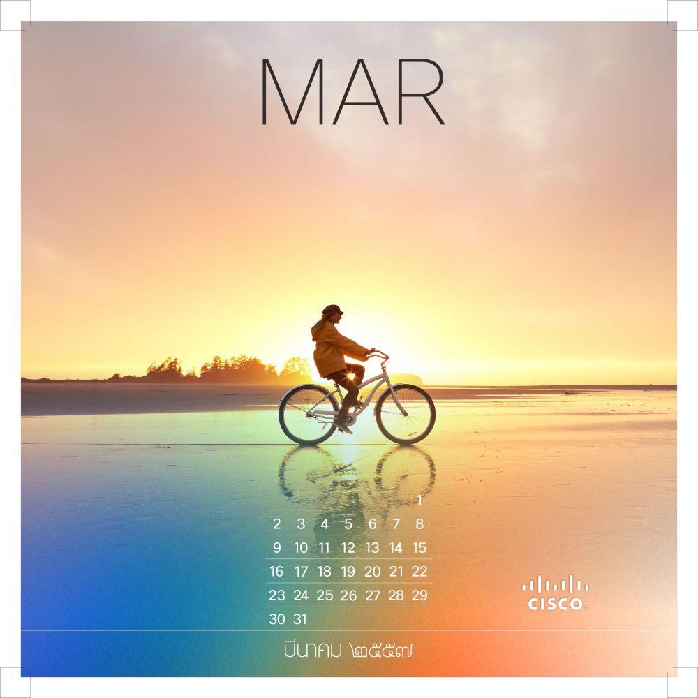 Cisco Calendar 2014 (4/6)