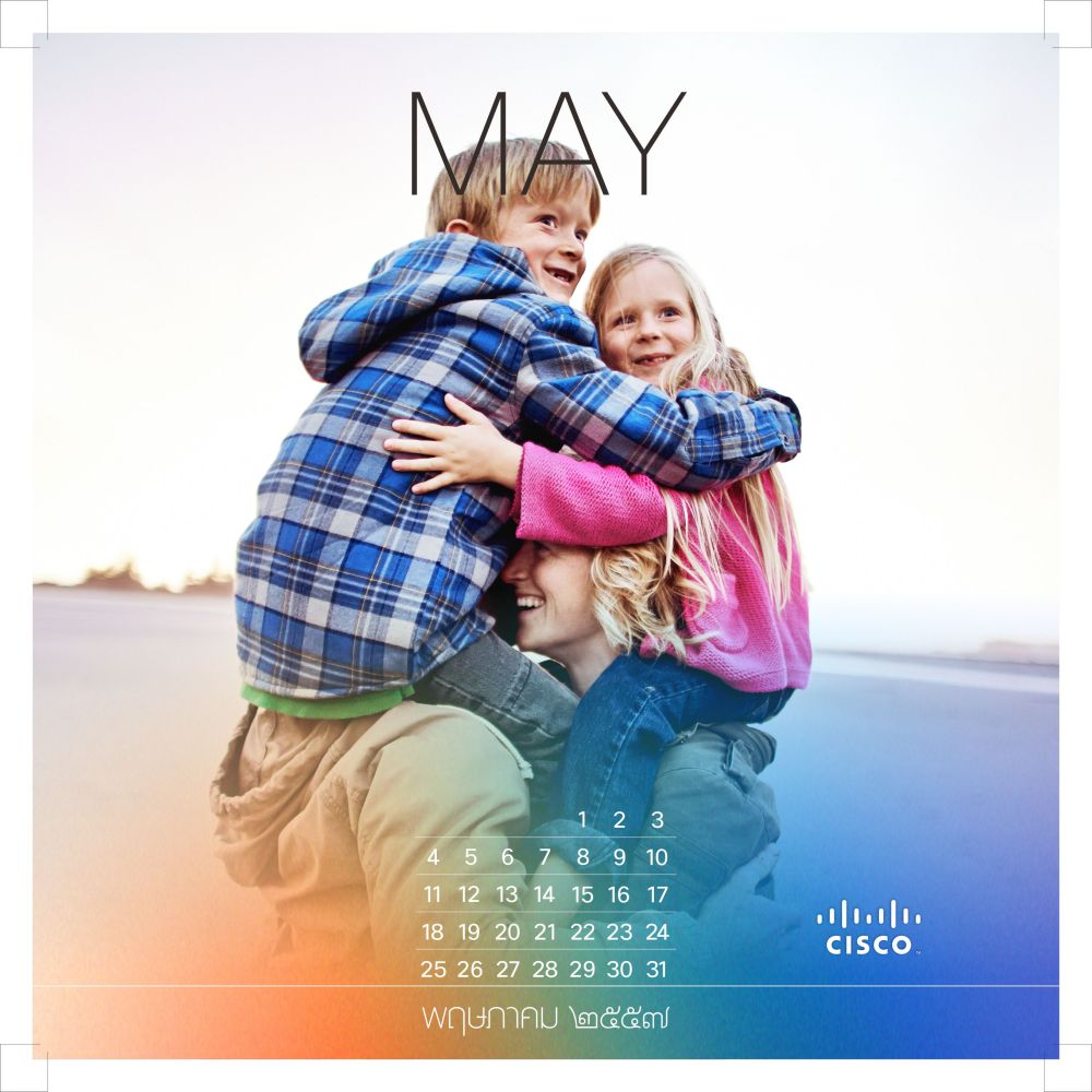 Cisco Calendar 2014 (6/6)