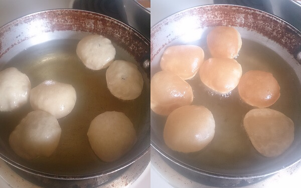 Homemade Chaat Puri 4