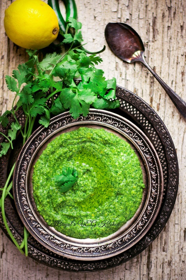 Cilantro Mint Jalapeno Hummus Photography