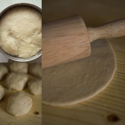 Homemade Whole Wheat Pita Bread 2