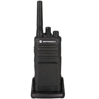 motorola XT420 walkie talkie in lader voorkant