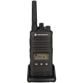motorola XT460 walkie talkie in lader voorkant