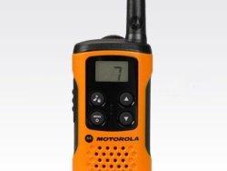 Motorola portofoon licentievrij T41 oranje front