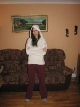 Hooded from afar (Image of Celinka Serre)
