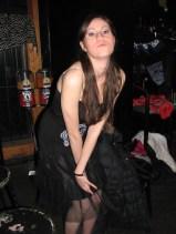 Café Chaos fashion show 2 (Harmony Walker Clothing - Autumn 2010) (Image of Celinka Serre)