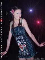 Fashion Show at Café Chaos 4 (Harmony Walker Clothing - 2009) (Image of Celinka Serre)