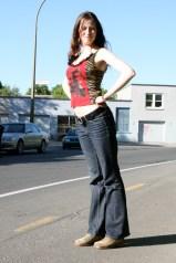 Outdoor photo shoot 3 (Harmony Walker Clothing - Spring 2010) (Image of Celinka Serre)