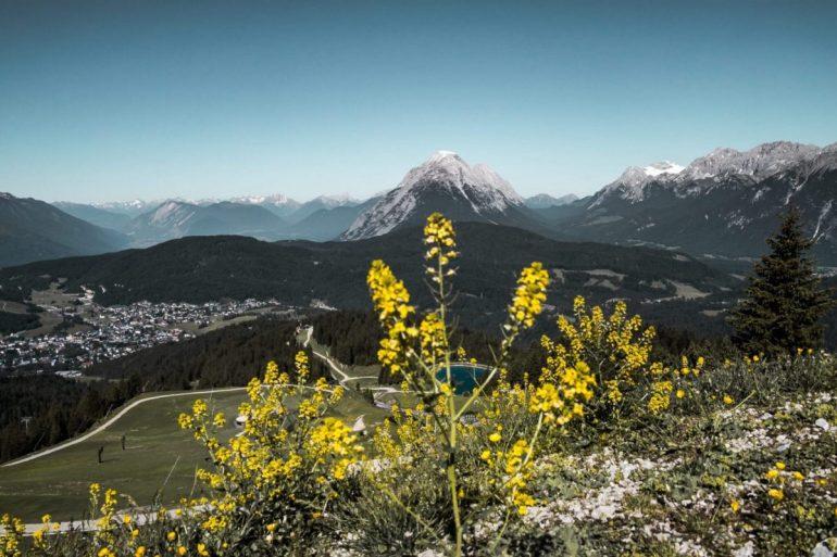 Auf Höhe der Rosshütte bei der Wanderung zur Seefelder Spitze