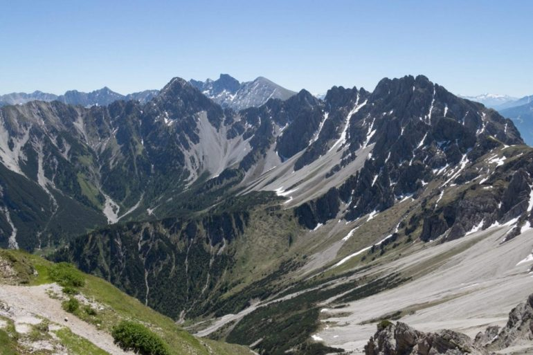 Berglandschaft der Seefelder Spitze