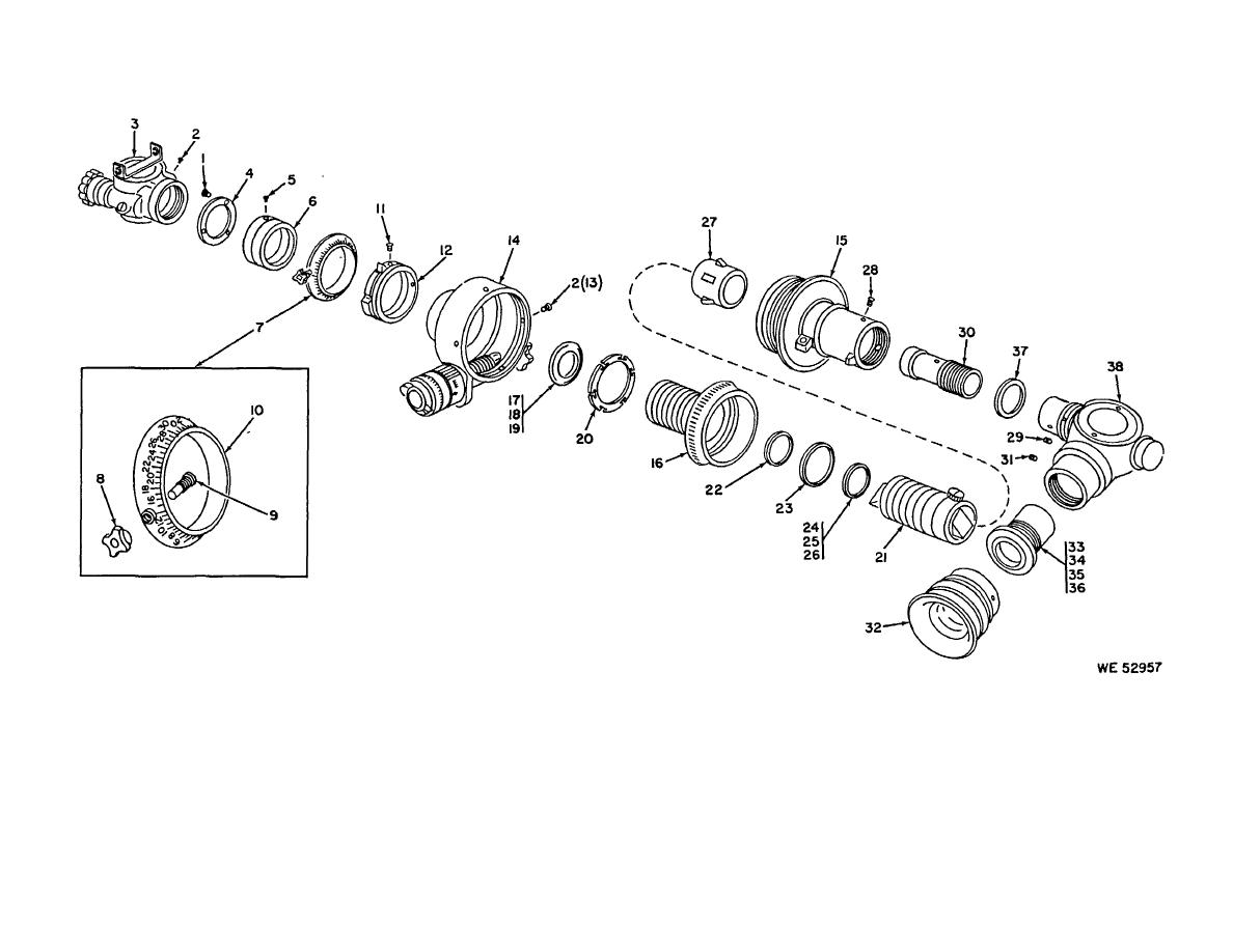 Figure 2 Telescope Panoramic Partial Exploded View