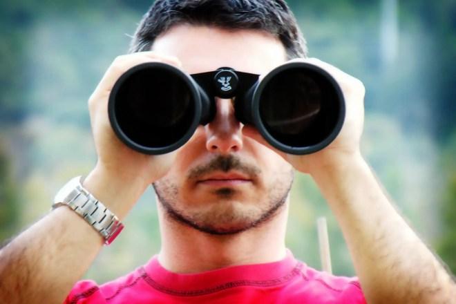 Binoculars Size