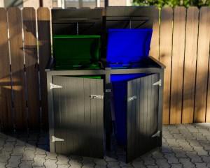 wheelie bin storage