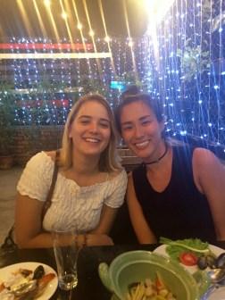 Mizuki and me in Bangkok!