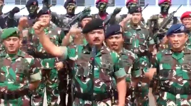 Gagalkan Pelantikan Presiden Bakal Berhadapan Dengan TNI