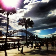 run near the harbour bridge australia