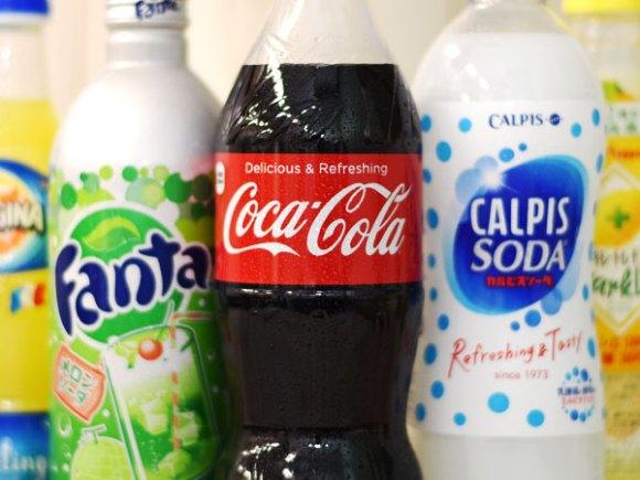 高カロリーの炭酸飲料