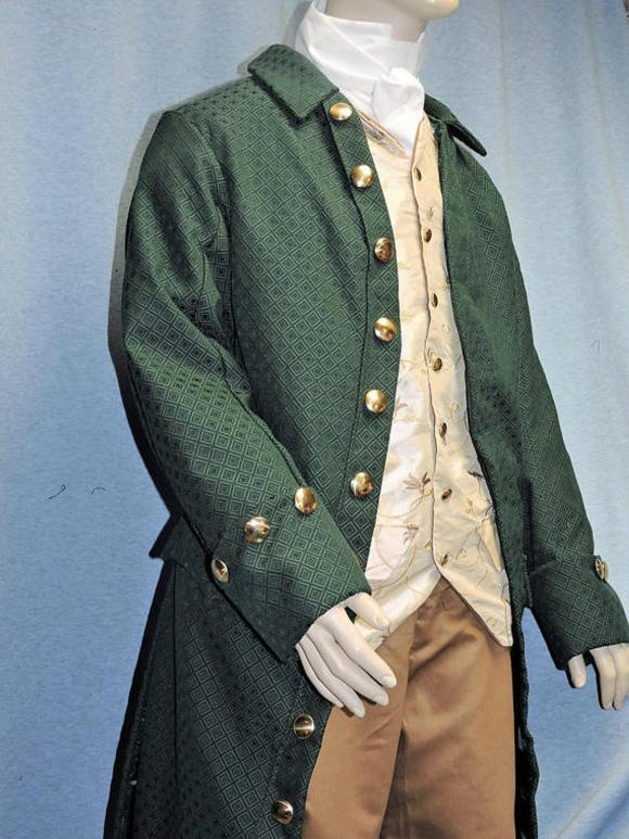 Custom Made Colonial Victorian Edwardian Frock Coat ONLY
