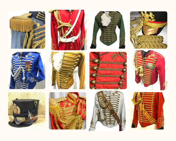 Military Uniform Jackets from Steampunk Mastery.