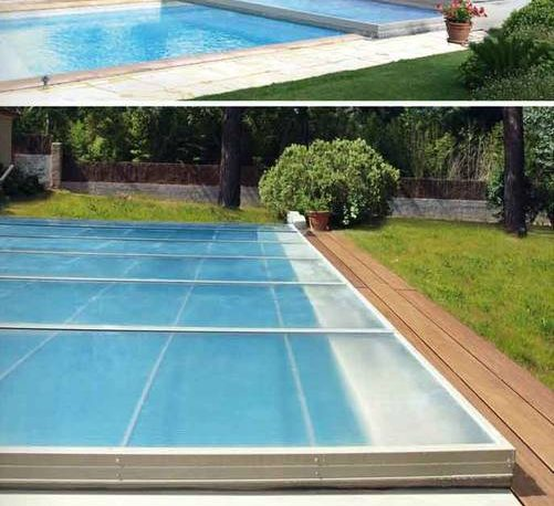 prix abri piscine bas coulissant